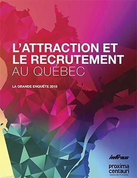 couverture livre l'enquête québécoise sur l'attraction et le recrutement au Québec